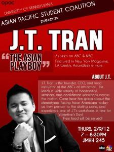 JT Tran motivates students at the University of Pennsylvania