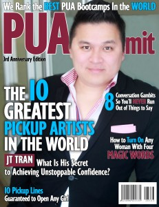 JT Tran: Voted Top Asian Pickup Artist & Dating Coach